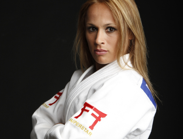 Judo, Rosalba Forciniti presto mamma «Con la piccola Alida punto a Rio 2016»